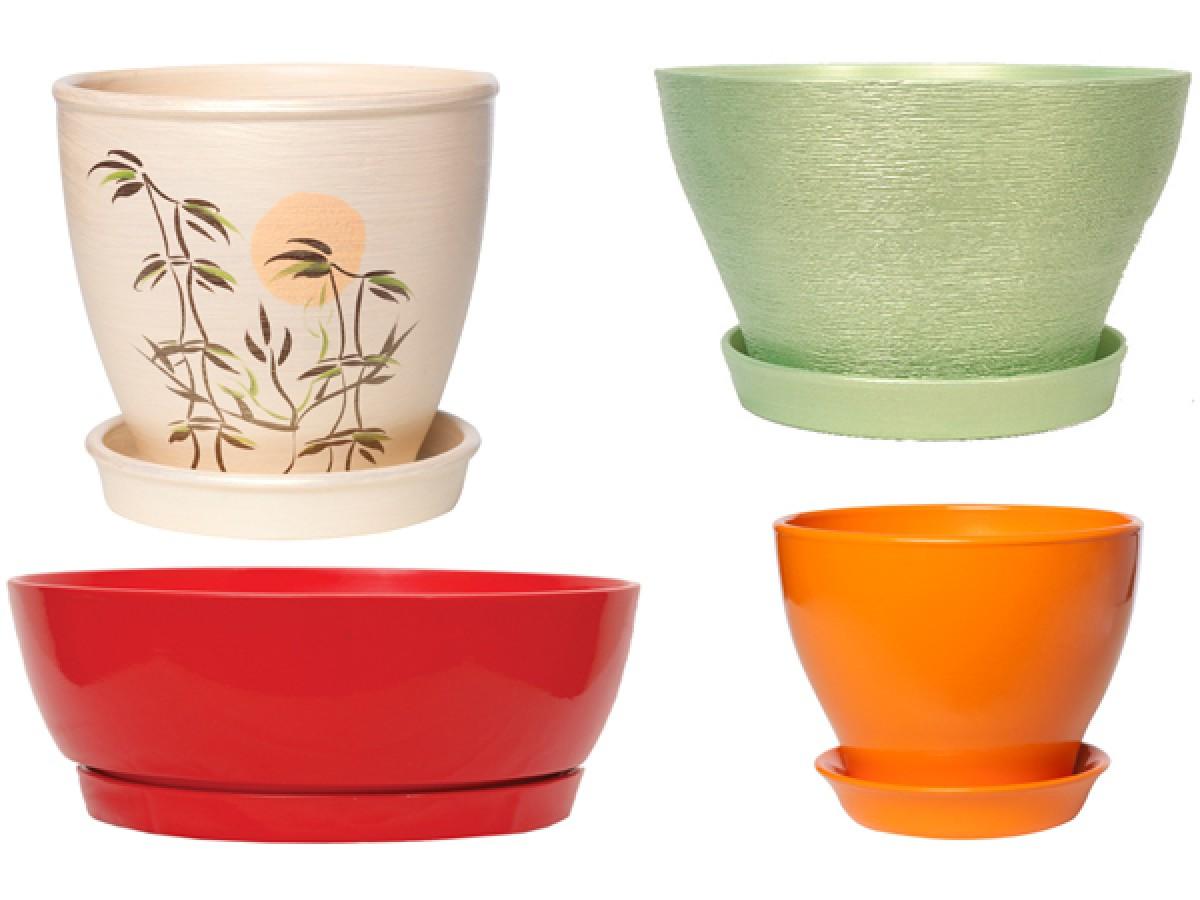 Выбор цветочной посуды