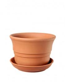 Flowerpot for Saintpaulias ceramic Terra 0,5l