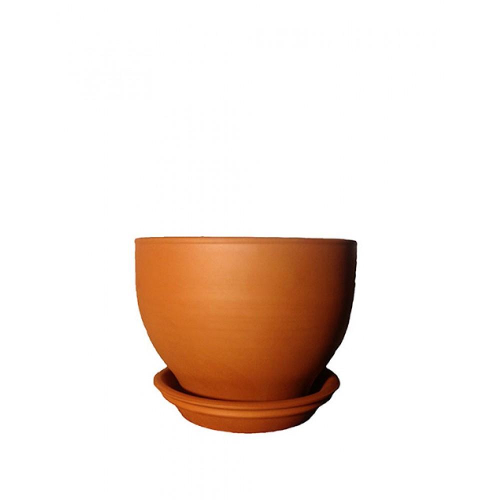 Горшок керамический Жасмин Терра 0,8л