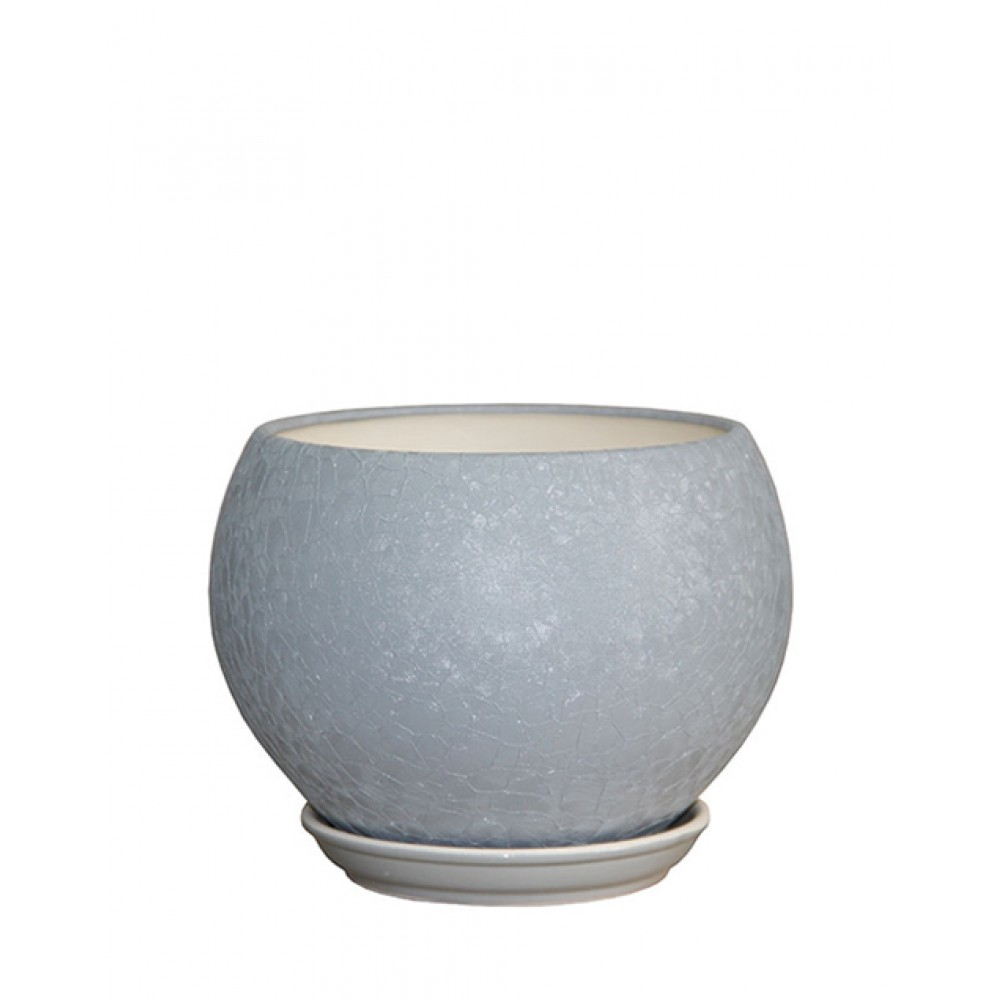 Flowerpot Shar silk (mix), 4.1L, d18