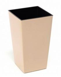 Cache-pot Phinezia square 40 * 40, with a tab, plastic