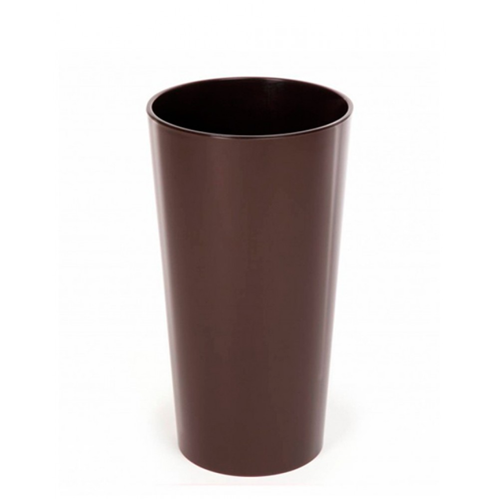 Planter Lilia d19, with inlay, plastic