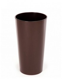 Кашпо Лилия d19, с вкладкой, пластик