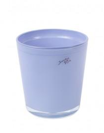 Orchid flower glass Sandra Rich (mix), d 12.5