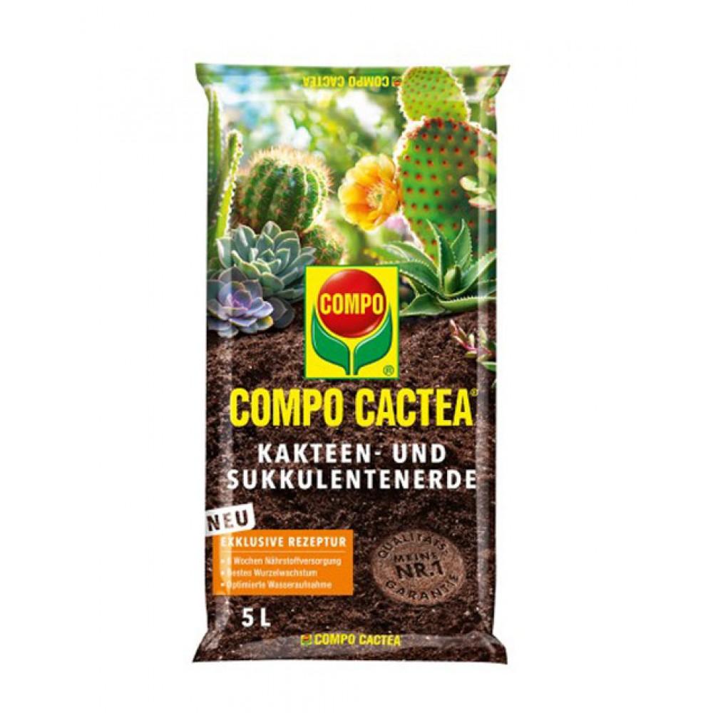 Торфосуміш для кактусів Compo Sana, 5л