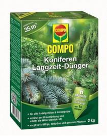Solid fertilizer of long action for coniferous Compo, 2 kg