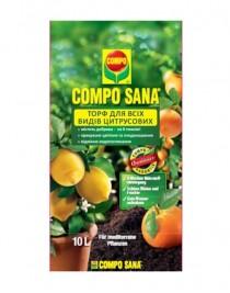Торфосмесь для цитрусовых растений Compo Sana, 10л