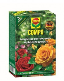 Solid fertilizer Compo long-lasting for roses, 1kg
