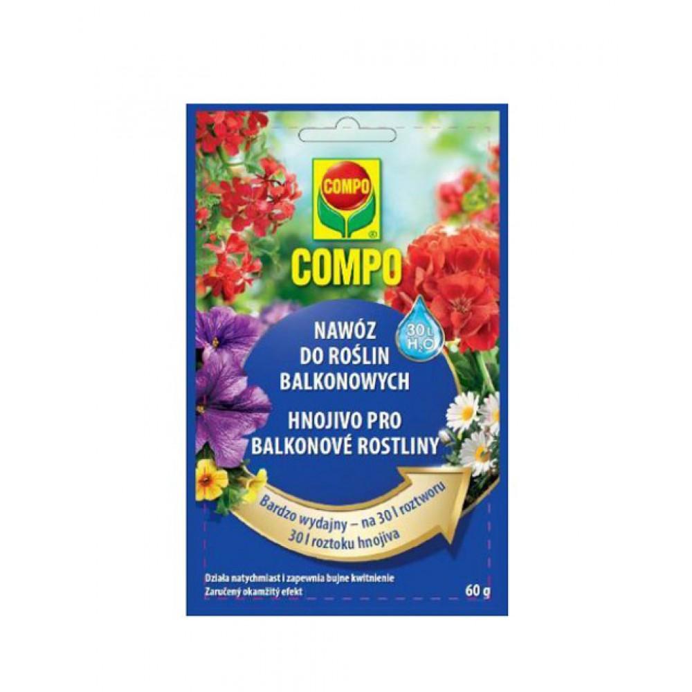 Удобрение длительного действия для цветущих растений Compo, 60г