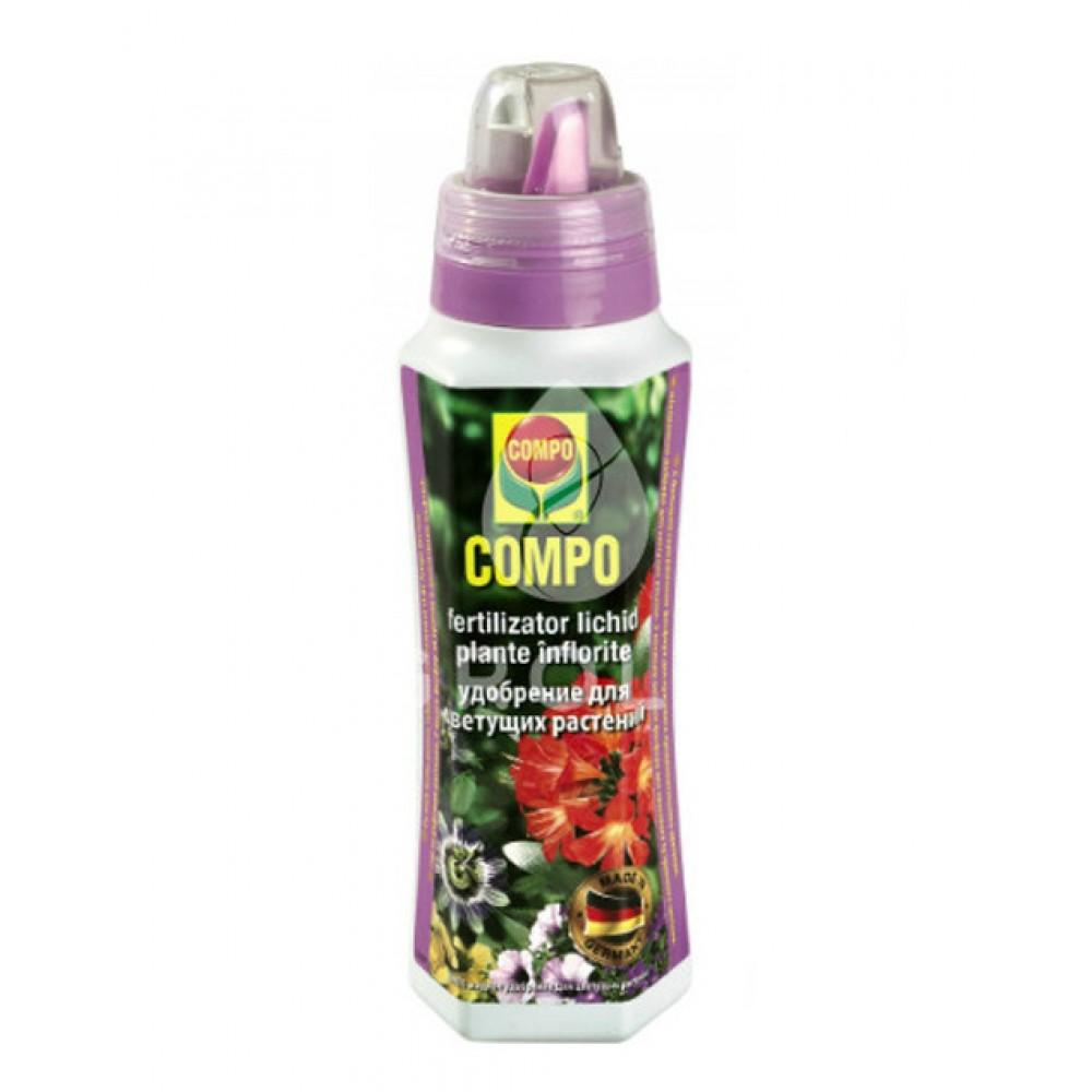 Жидкое удобрение для цветущих растений Compo, 0,5л
