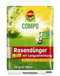 Solid fertilizer of long action for Compo lawns, 20 kg