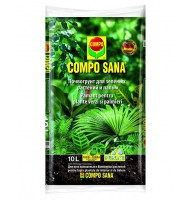 Peat mixture for green plants and palms Compo Sana, 10l