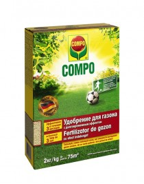 Fertilizer for the lawn Compo, 2kg
