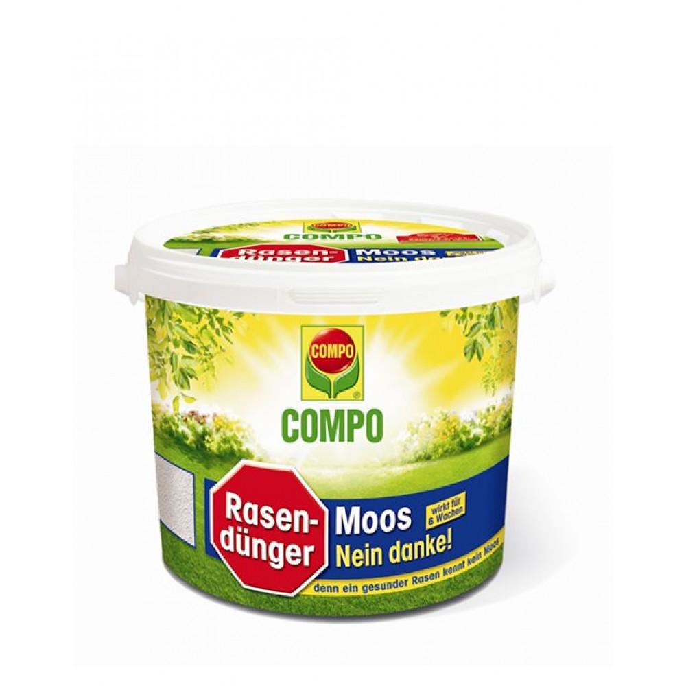 Добриво для газону проти моху Compo, 4,5кг