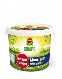 Compo anti-moss lawn fertilizer, 4,5kg
