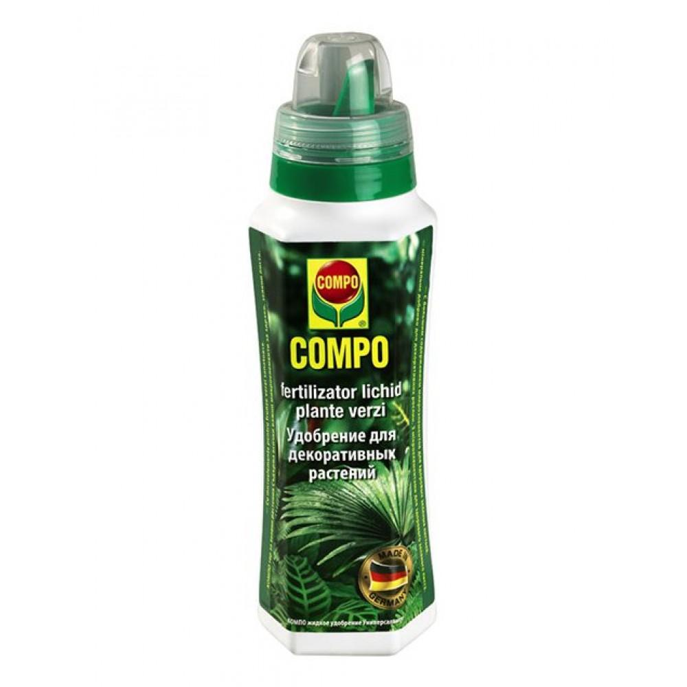 Жидкое удобрение для зеленых растений Compo, 0,5л