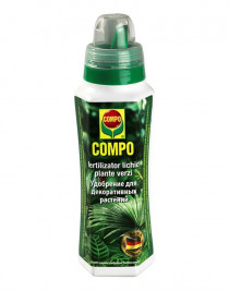 Liquid fertilizer for green plants Compo, 0,5l