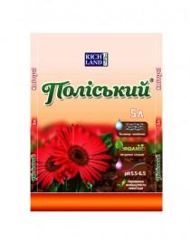 Субстрат для цветущих растений Полесский, 5л